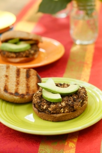 Black Bean Burger _7698